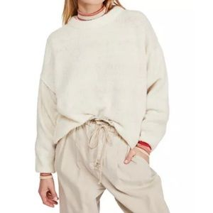 Free People | Angelic Pullover Sweater in Ivory |M